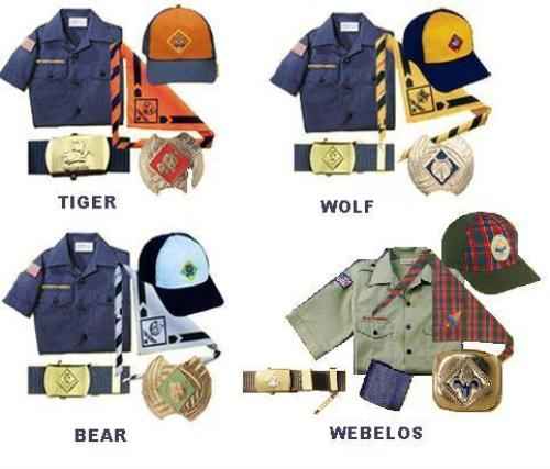 Uniform Guidelines Cub Scouts Pack 65